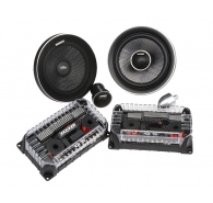 "Kicker Q Class 41QSS654 6.5"" (160MM) Component System with 1-3/16"" (30MM) Tweeters, 4 OHM"