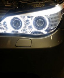 New Halo Lighting install on car
