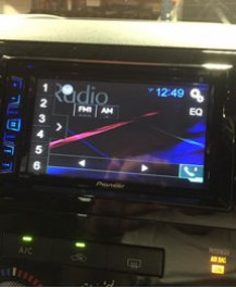 Pioneer In Dash DVD installation