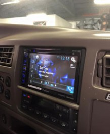 Pionner In Dash Receiver install on Ford Excursion