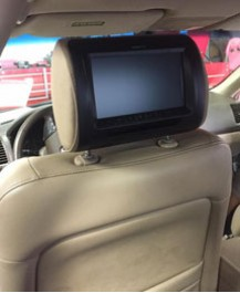 Clean Headrest TV installation