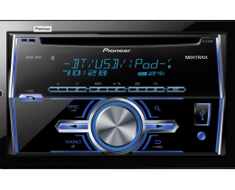 2-DIN CD Receiver (FH-X700BT)