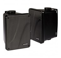 Kicker 11KB6000B Weather-Resistant Full-Range Speaker Enclosure, Black
