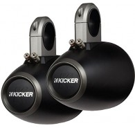 "Kicker 12KMTES Tower Enclosure for 6"" (160MM) and 5.5"" (165MM) Drivers, Pair"