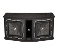 "Kicker Q Class 41DL7122 Dual L7 12"" (30CM) Subwooofer in Vented Enclosure, 2 OHM"