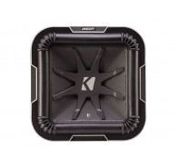 "Kicker Q Class 41L7104 10"" (25CM) Square Subwoofer, Dual Voice Coil 4 OHM"