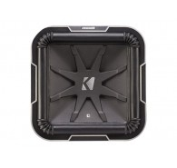 "Kicker Q Class 41L7124 12"" (30CM) Square Subwoofer, Dual Voice Coil 4 OHM"