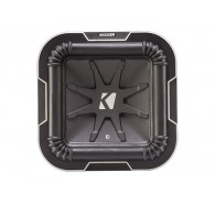 "Kicker Q Class 41L782 6"" (20CM) Square Subwoofer, Dual Voice Coil 2 OHM"