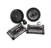 "Kicker Q Class 41QSS674 6.75"" (165MM) Component System with 1-3/16"" (30MM) Tweeters, 4 OHM"