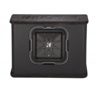 "Kicker Q Class 41TL7102 L7 10"" (25CM) Subwoofer in Thin-Profile Vented Enclosure, 2 OHM"
