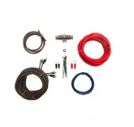 1/0ga Dual Amp Kit w/ Premium RCA for systems up to 1500W