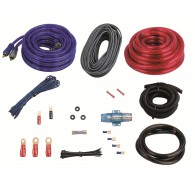8ga Amp Kit w/ Premium RCA for systems up to 500 Watts
