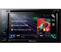"6.2"" Double‑DIN In‑Dash DVD Receiver with Bluetooth"