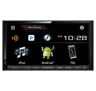 Kenwood 6.95' Receiver with Bluetooth and HD Radio