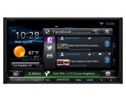 Kenwood Excelon 6.95' AV Navigation System with Bluetooth and HD Radio