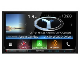 Kenwood Excelon 6.95' AV Navigation System w/ Bluetooth and HD Radio