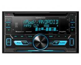Kenwood 2-Din CD Receiver and Front USB and AUX Input