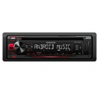 Kenwood CD Receiver with Front USB and AUX Input 1 Pre-Out