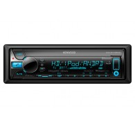 Kenwood CD Receiver with Bluetooth and HD Radio 3 Pre-Outs