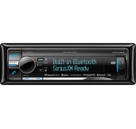 Kenwood Excelon CD Receiver with Built-In Bluetooth and HD Radion with 3Band EQ
