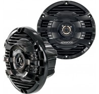 Kenwood Marine Black 6-1/2