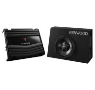 Kenwood Vented Enclosure Box Subwoofer with KAC-5206 700W