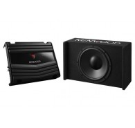 Kenwood Vented Enclosure Box Subwoofer with KAC-5206 1200W
