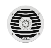 "6.5"" 4-Ohm Punch Series Marine Coaxial Speakers - Luxury Grille"