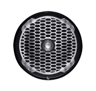 "8"" 2-Way Punch Series Full Range Coaxial Marine Speaker - Black"