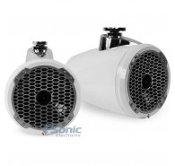 "8"" Punch Series Wakeboard Tower Speakers With Horn Tweeter - White"