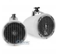 "8"" Punch Series Wakeboard Tower Speakers - White"