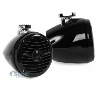 "6.5"" Prime Marine Mini Wakeboard Tower Speakers - Black"