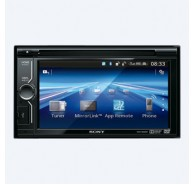 6.1 in (15.5 cm) LCD DVD Receiver with MirrorLink