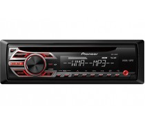 Pioneer DEH- MP150 CD Receiver with MP3 Playback and Front AUX-In
